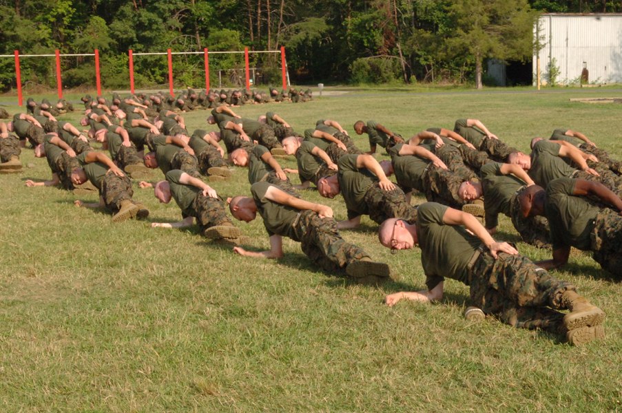 Physical fitness officer candidates school blog - Officer training school marines ...