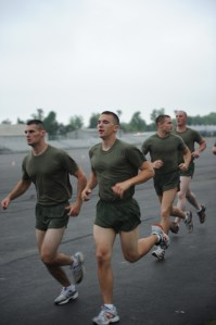 marine ocs pft run 199x300 Correct Your Running Form: Use Your Head!