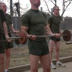 ocs usmc workout curls 150x150 RIP Major Charles Lewis Armstrong