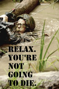 Relax. You