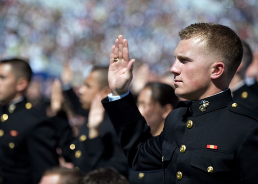 usmc officer oath OCS Applications: Leadership vs. GPA or PFT